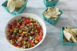 Corn, Pepper Bean Dip
